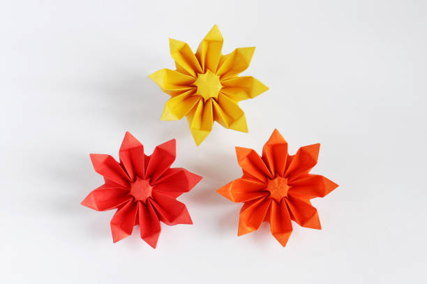 Royalty free origami flower pictures images and stock photos istock origami sun flower stock photo mightylinksfo