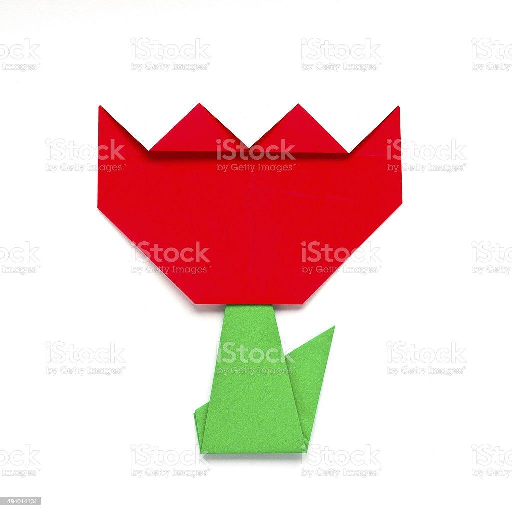 Origami Tulip | Fun Family Crafts | 1024x1024