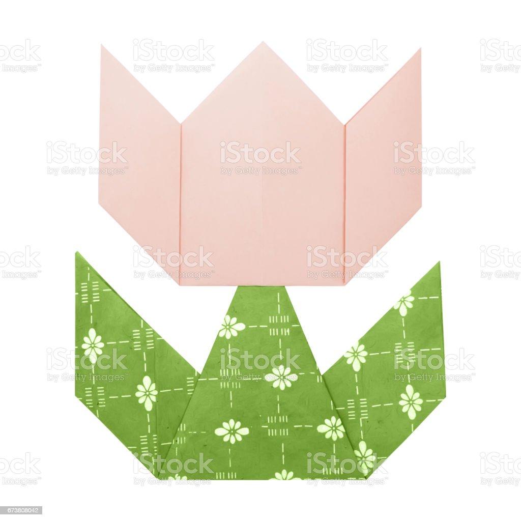 How to DIY Origami Tulip | Origami tulpe, Origami papier falten ... | 1024x1024