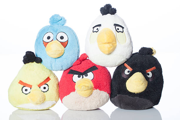 Original Angry Birds stock photo