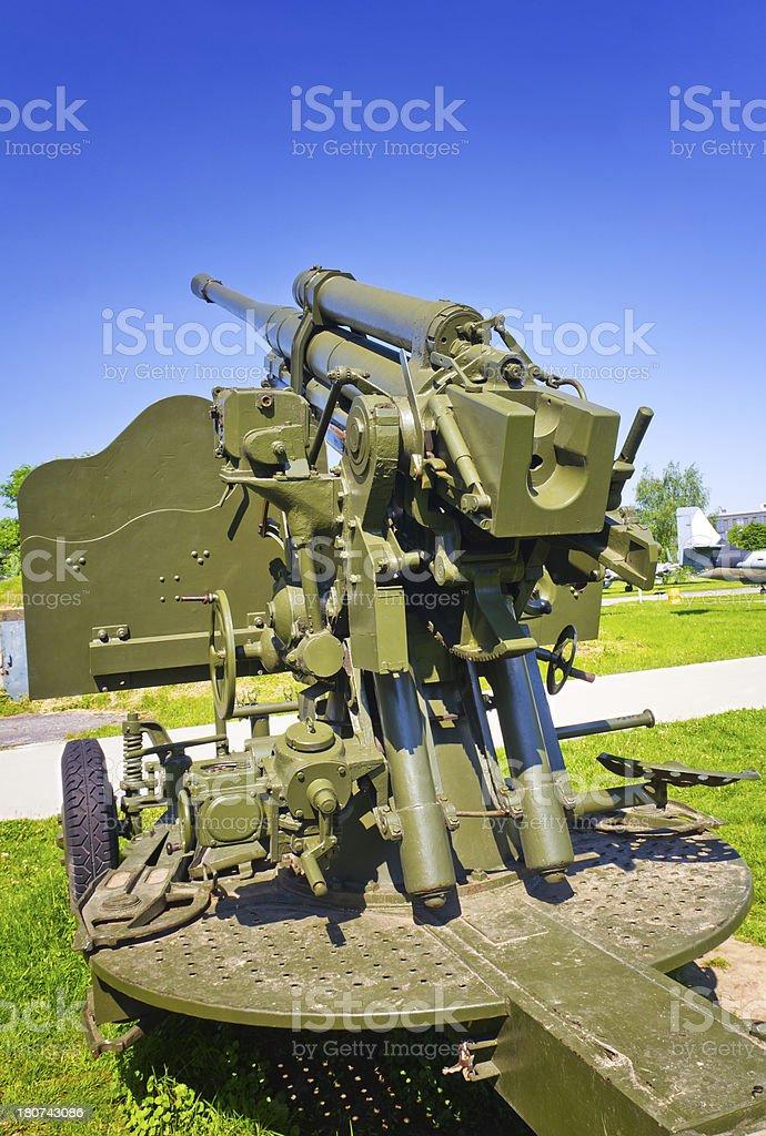 Original condition II WW Cannon royalty-free stock photo