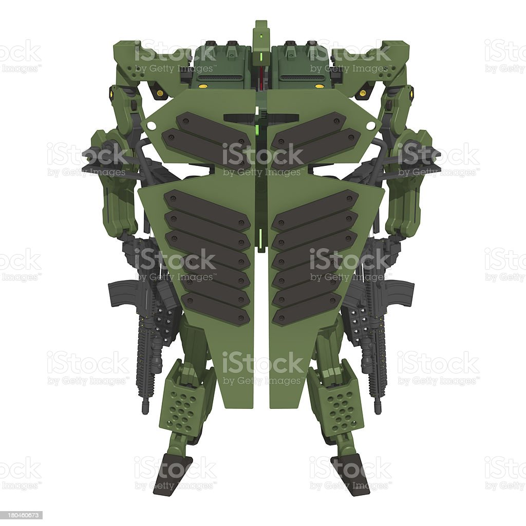 Original design robot stock photo