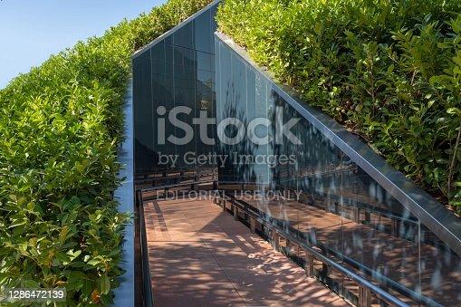 Original entrance to
