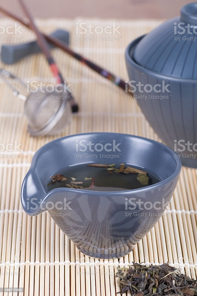 Original Green Tea royalty-free stock photo