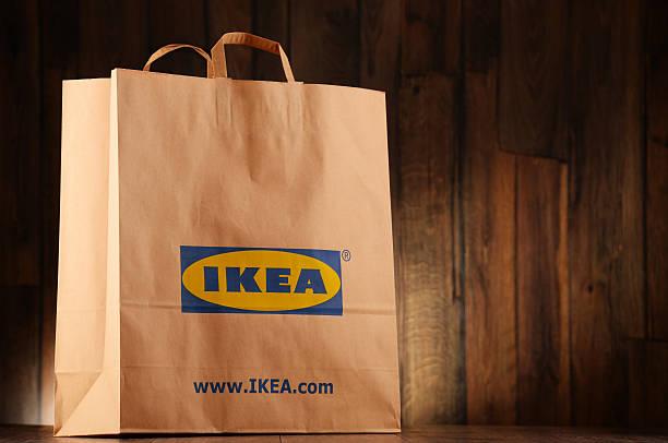 Original IKEA Papier Einkaufstasche – Foto