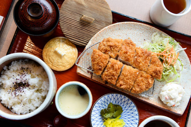 Original Japanese Tonkatsu full set