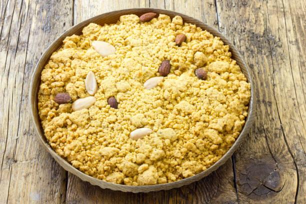 Original Sbrisolona cake from Mantova Italy – zdjęcie