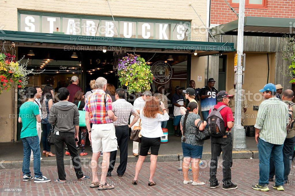 Original Starbucks royalty-free stock photo