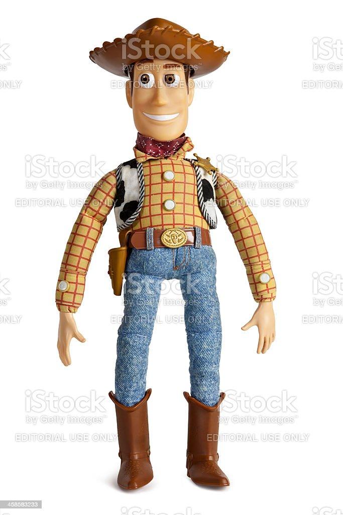 Original Toy Story Woody Cowboy Doll stock photo
