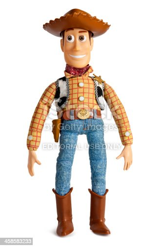 Original Toy Story Woody Cowboy Doll Stock Photo U0026 More Pictures Of Characters   IStock