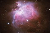 This is an high resolution image of The Great Orion Nebula, in the constellation Orion (The Hunter).