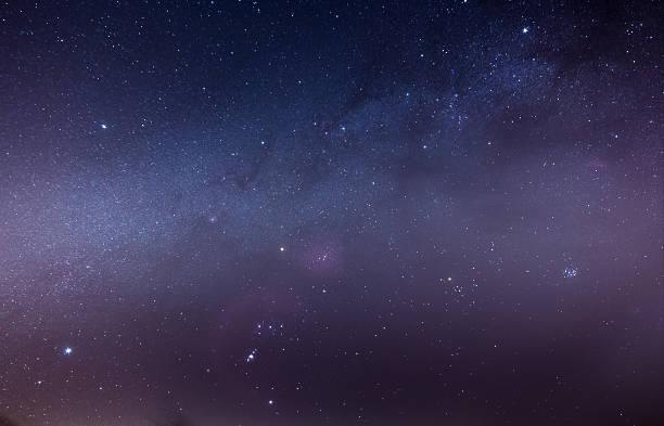 Orion Starfield stock photo