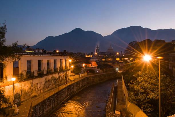 Orizaba´s night Long exposure in Orizaba, Mexico orizaba stock pictures, royalty-free photos & images