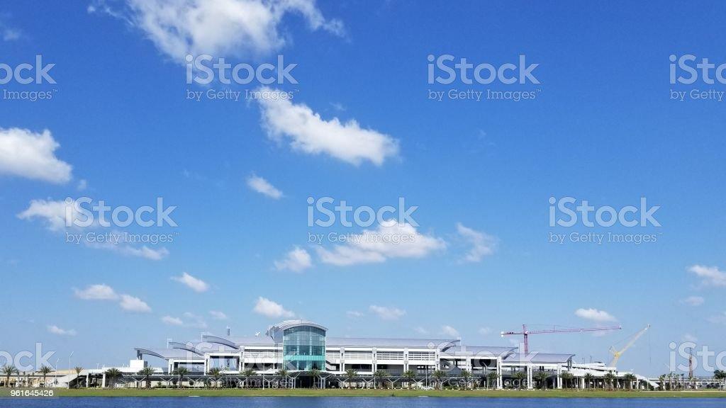 Terminal del aeropuerto de Orlando foto de stock libre de derechos