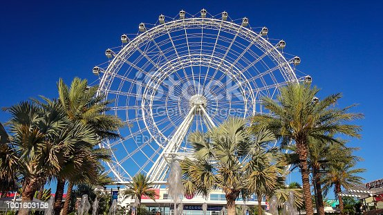 The Orlando Eye, in the heart of Orlando, Florida is the largest observation wheel on the east coast
