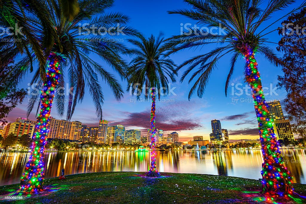 Orlando, Florida Cityscape stock photo