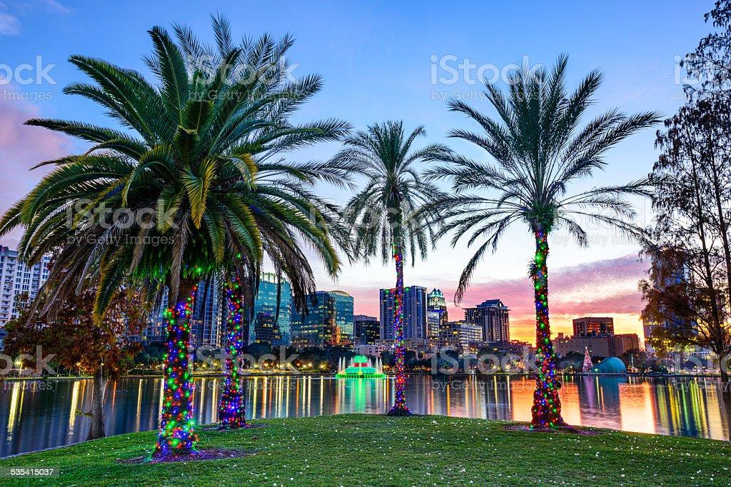 Orlando, Florida Cityscape royalty-free stock photo