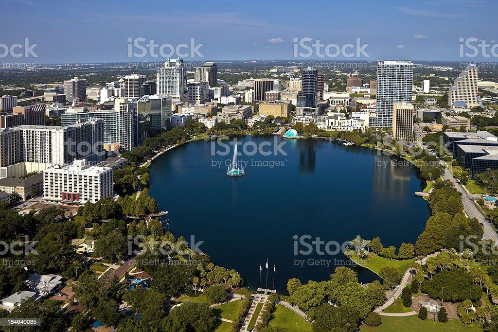 Orlando, Florida Skyline stock photo