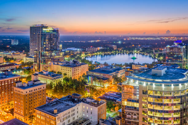 orlando, florida, usa - south stock photos and pictures