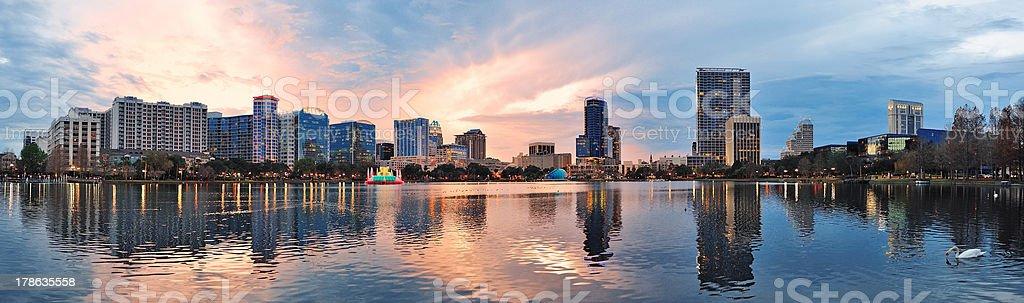 Orlando panorama stock photo