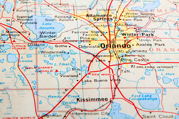orlando - orlando florida photos stock photos and pictures