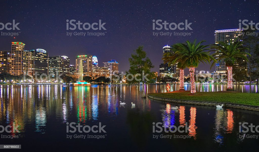 Orlando Skyline stock photo