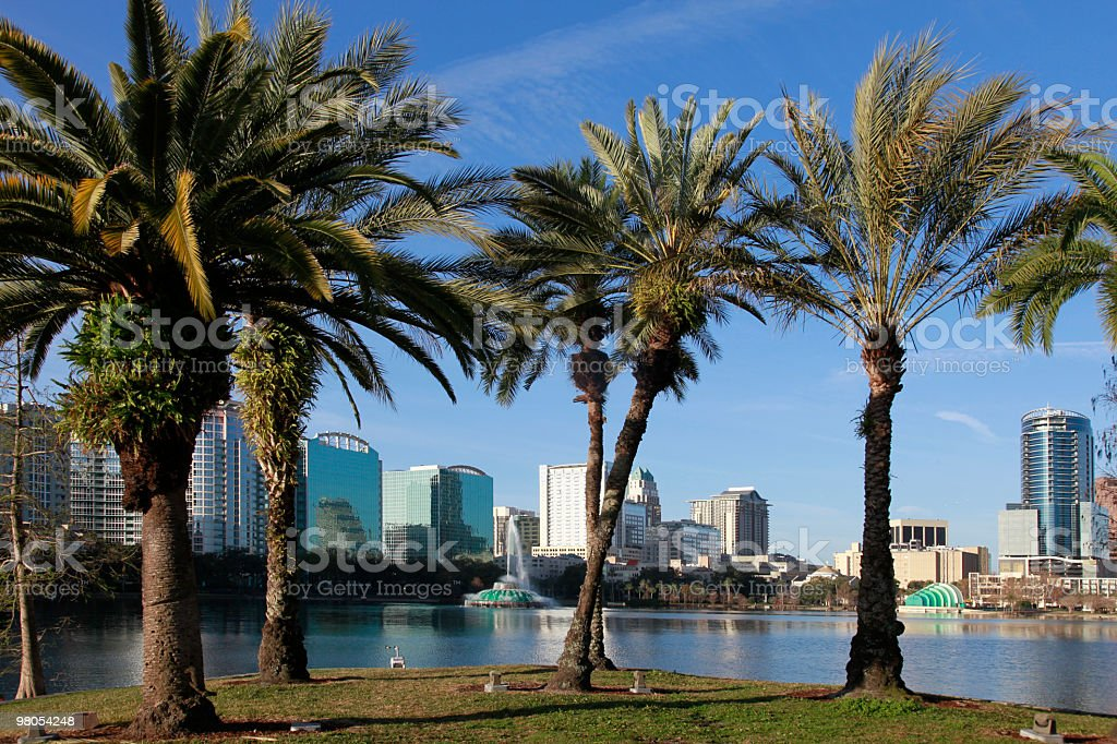 Orlando Skyline royalty-free stock photo
