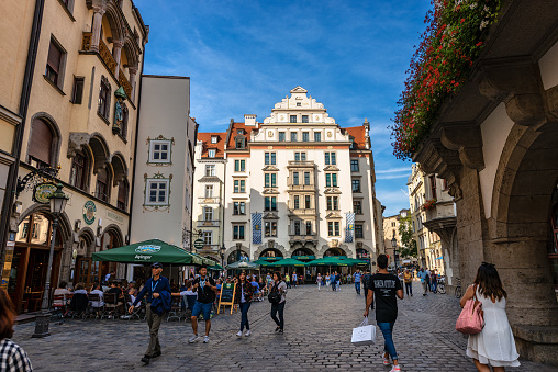 Orlando-Haus - Historic Building in Downtown of Munich
