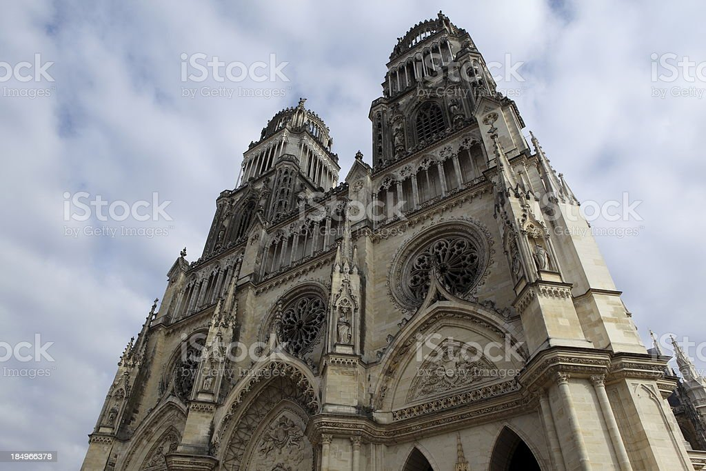 Orléans cathedral, France stock photo