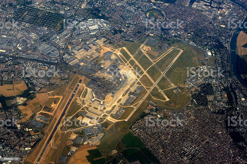 Orly Airtport - Paris stock photo