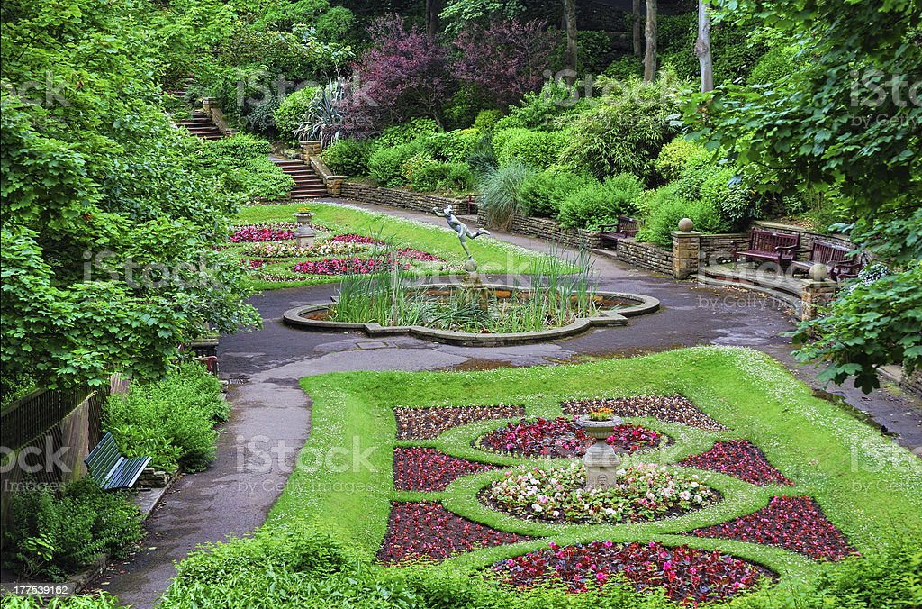 Ornament Italian Style Garden Stock Photo Download Image Now