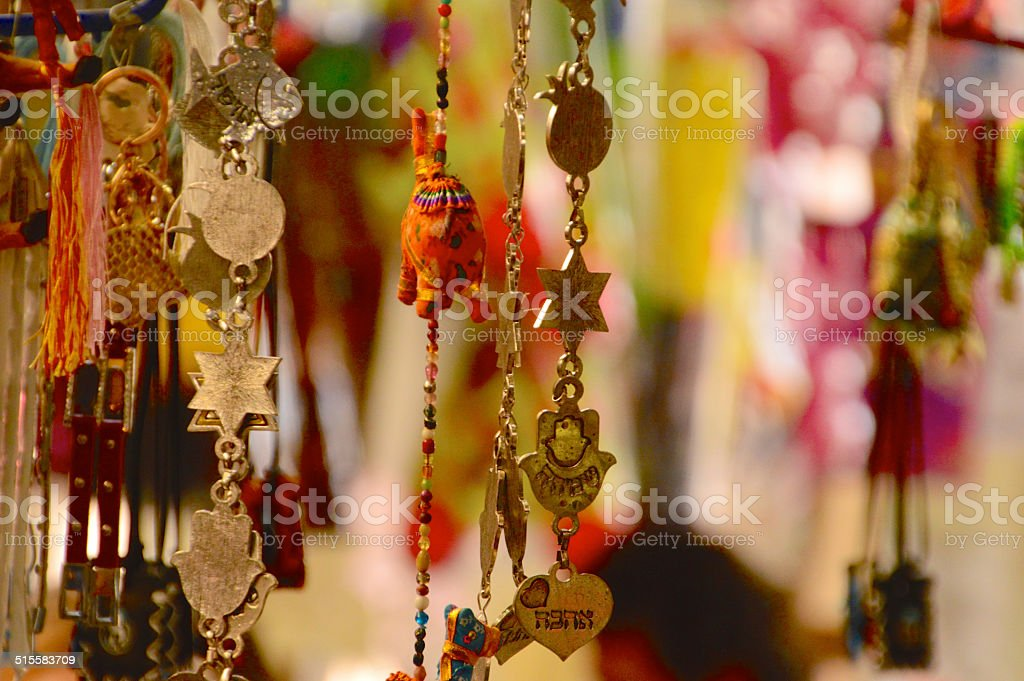 Ornament of Israel stock photo