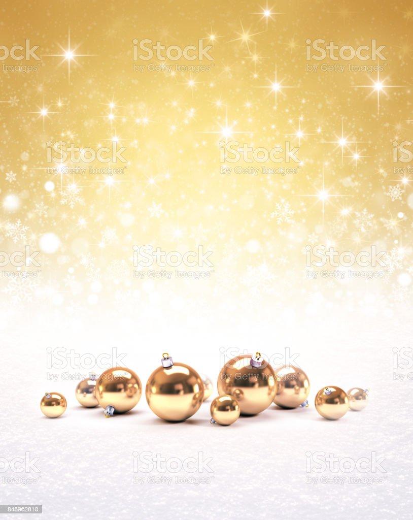 Fundo de Natal Ornamental - foto de acervo