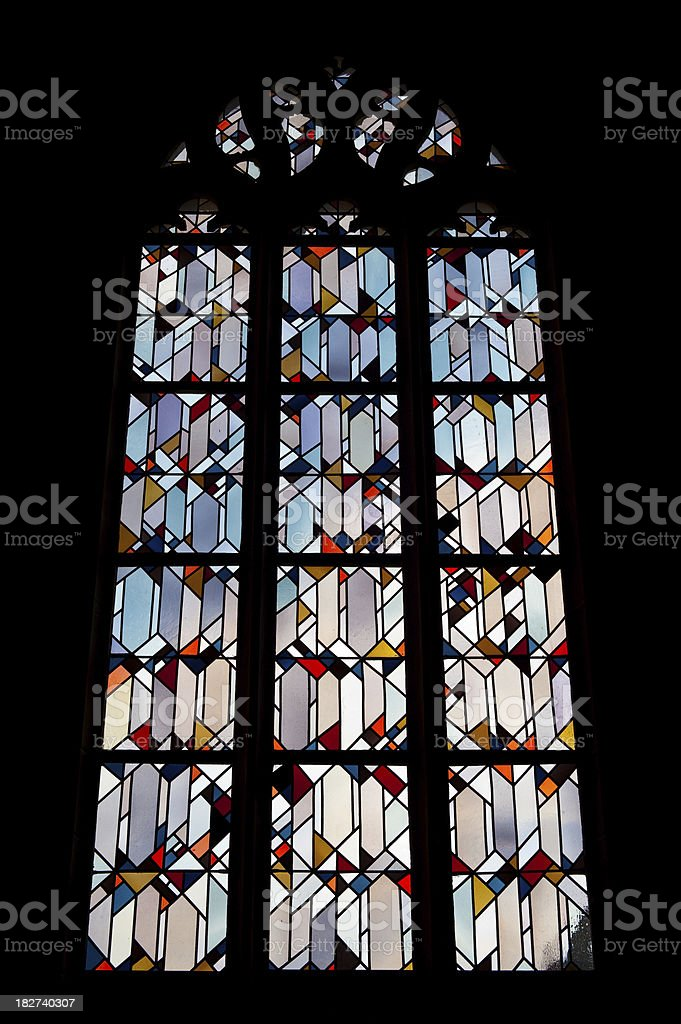 Ornamental Church Window stock photo