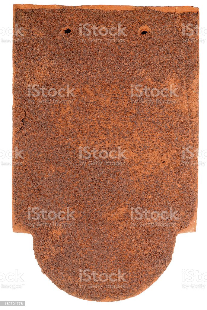 Ornamental clay tile royalty-free stock photo