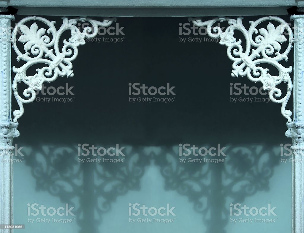 Ornamental entrance  - background. royalty-free stock photo