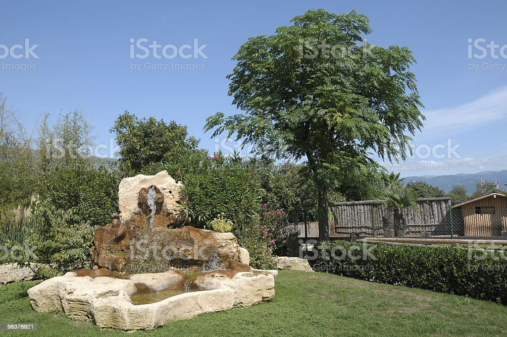Ornamental garden royalty-free stock photo