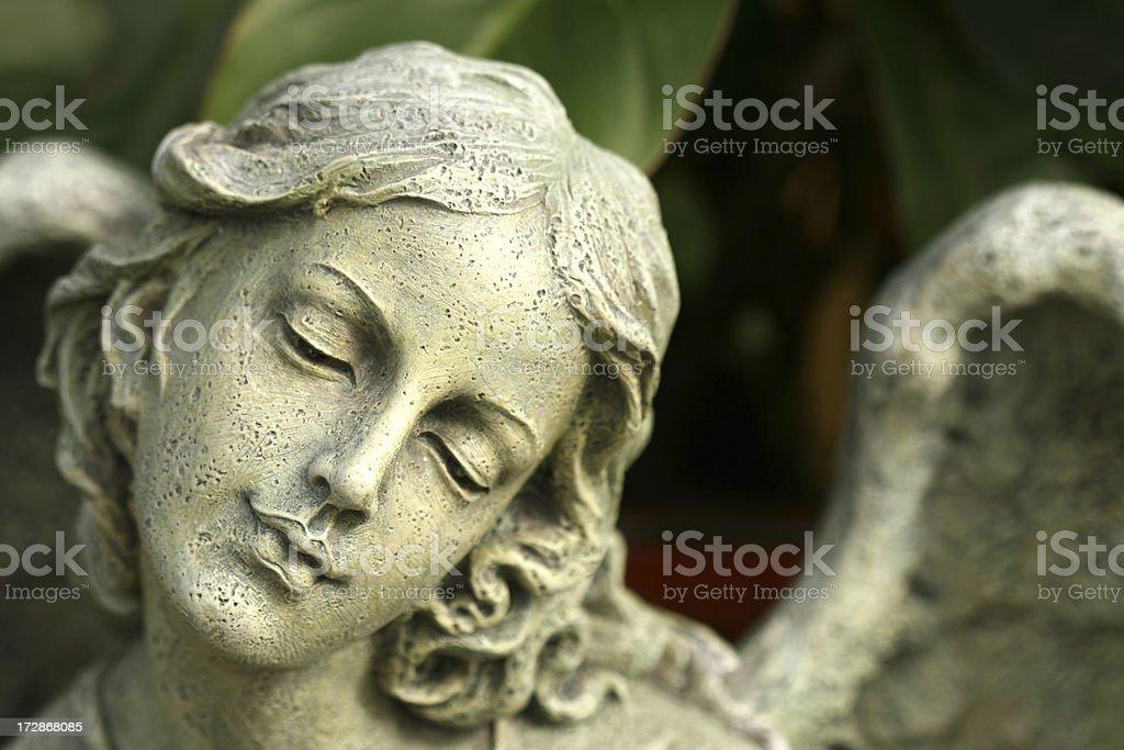 Ornamental Garen Angel royalty-free stock photo