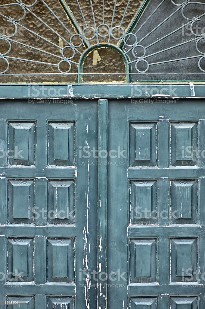 ornamental gate royalty-free stock photo