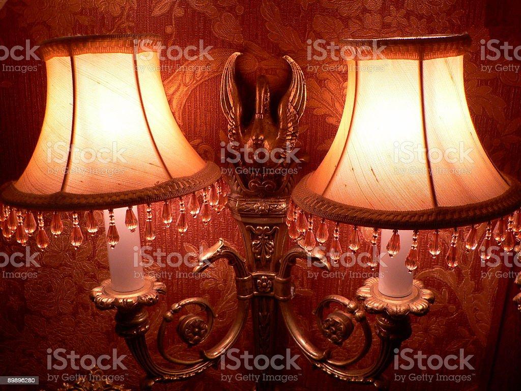 Декоративный лампа Стоковые фото Стоковая фотография