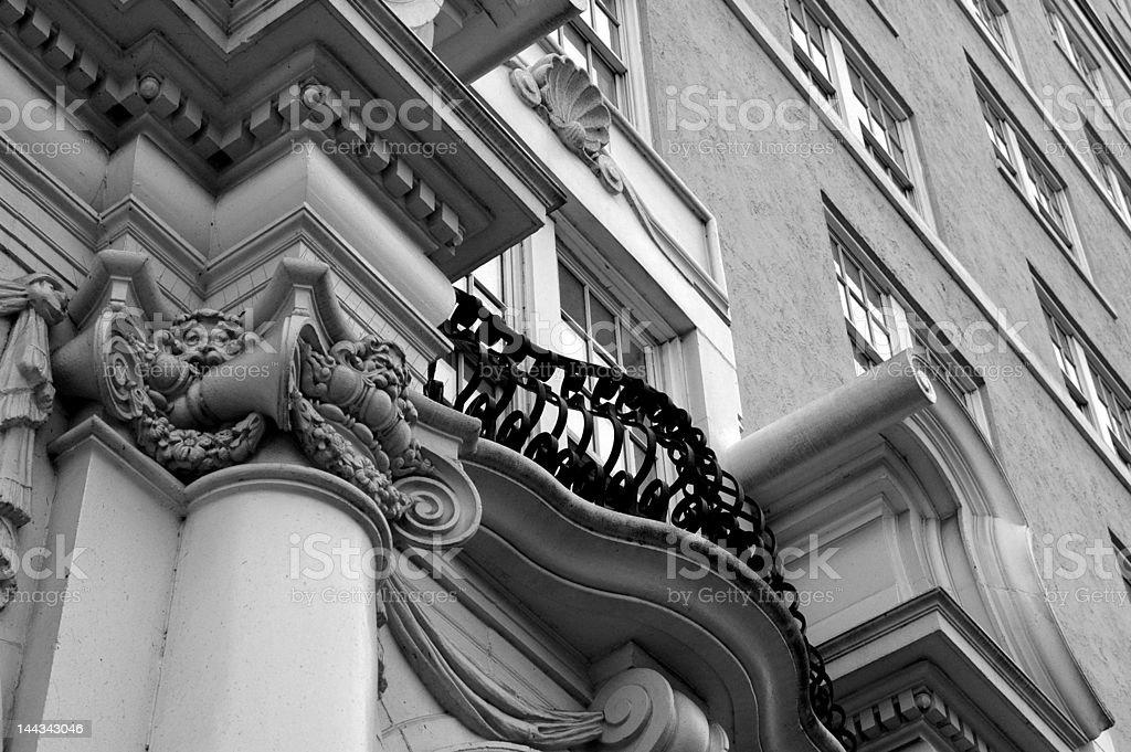 Ornamental Ledge stock photo