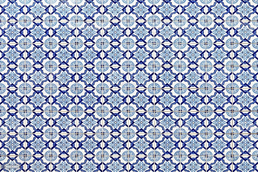 Ornamentais peças-Azulejos Português - fotografia de stock