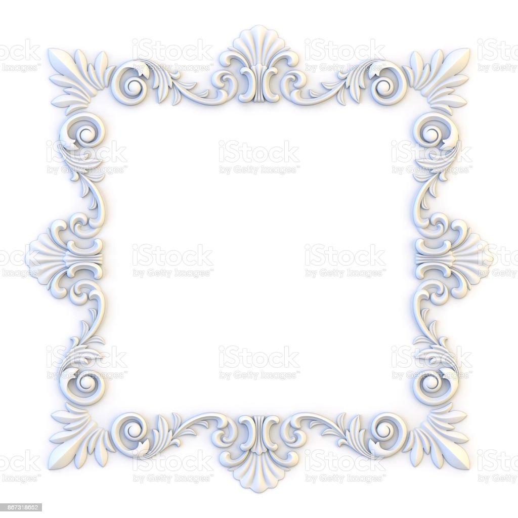 531dad4c0c337 Marcos vintage ornamentales. Plantilla de diseño floral. Decoración de la  página. Tarjeta de