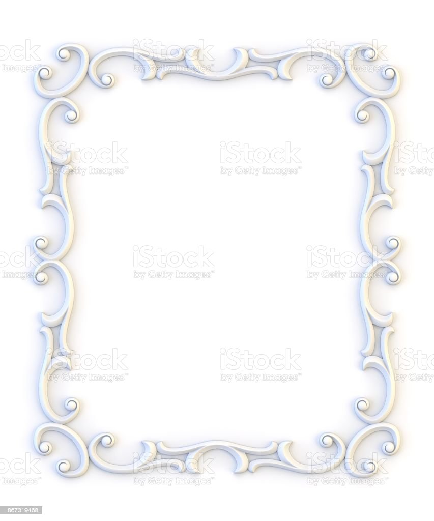 Ornamental Vintage Frames Floral Design Template Page Decoration