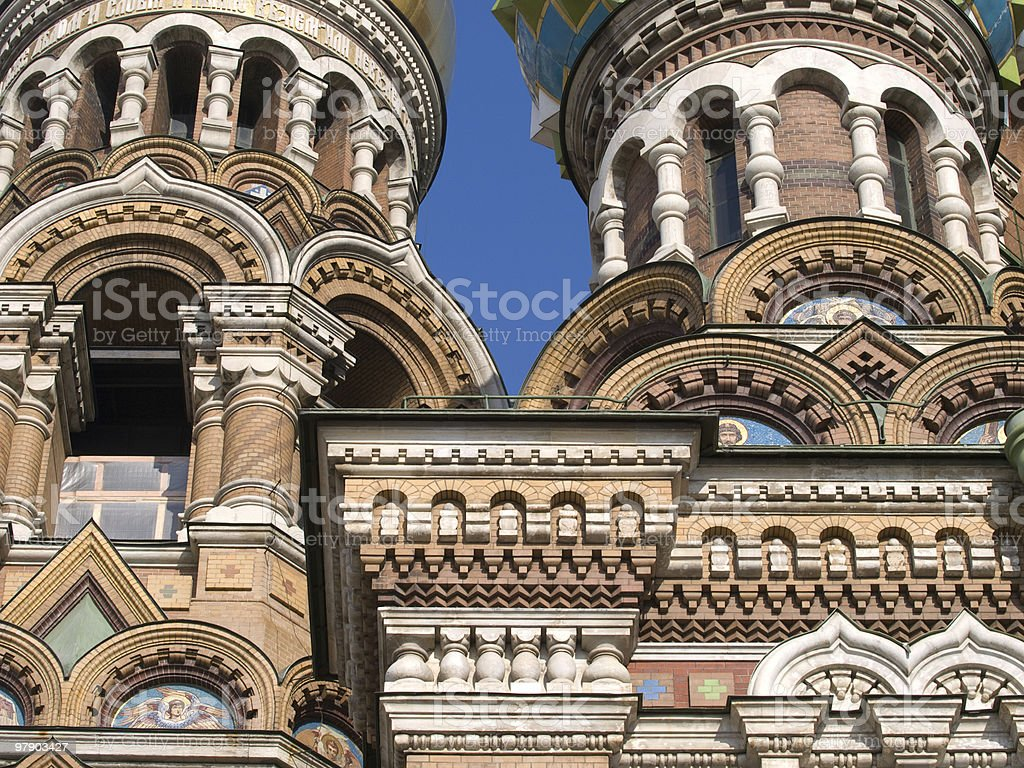Ornamental wall of temple royalty-free stock photo