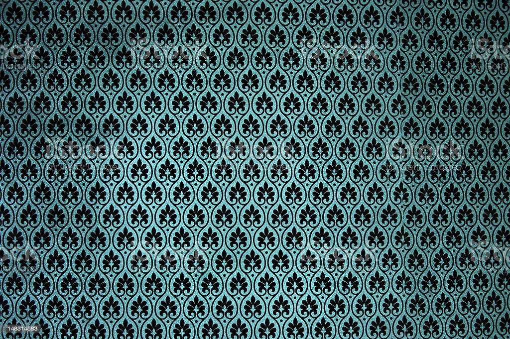 ornamental wallpaper stock photo
