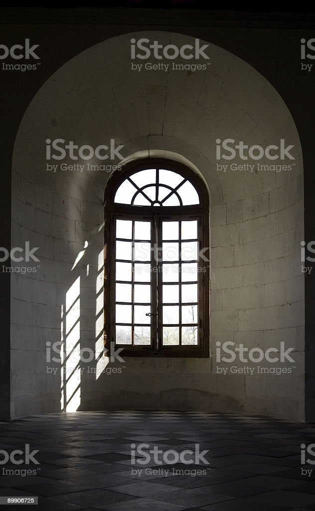 Ornamental Window royalty-free stock photo