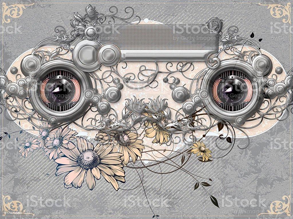 Verzierte Augen – Foto