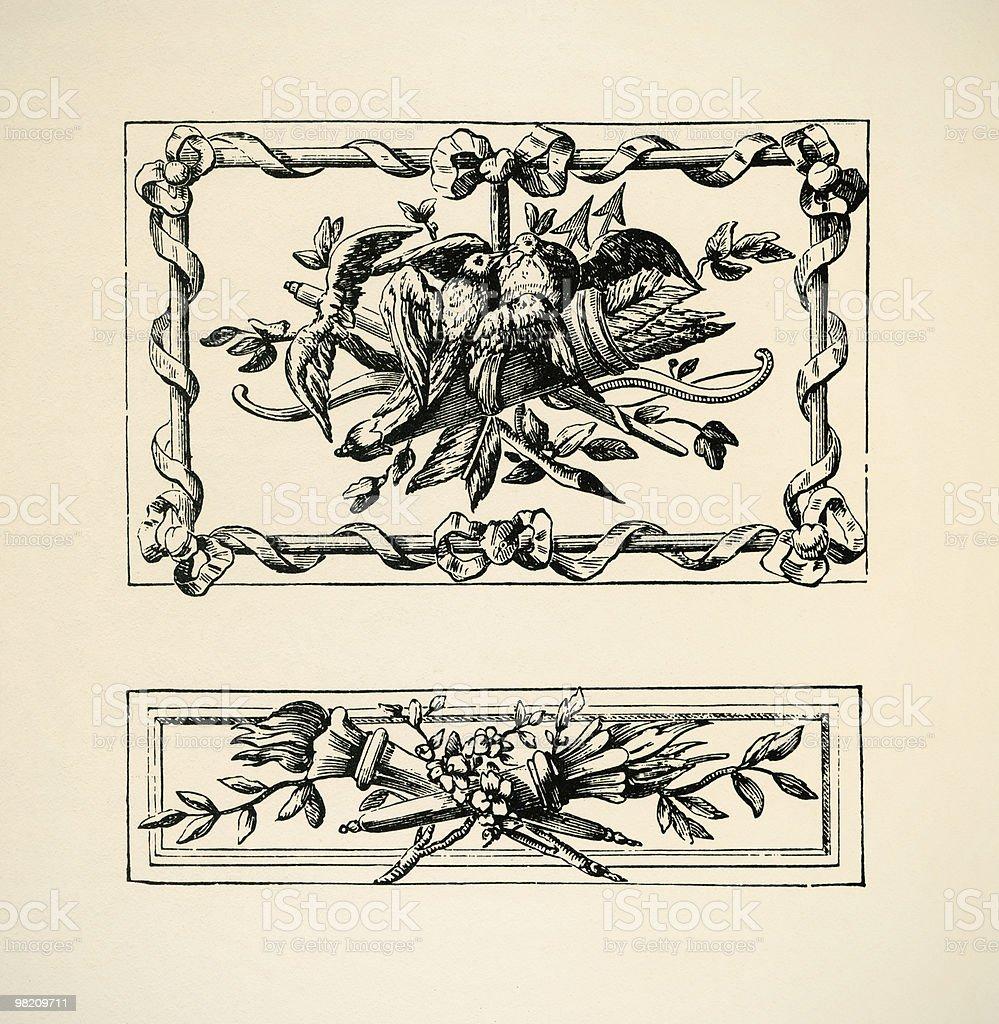 Ornamenti Italiens foto stock royalty-free