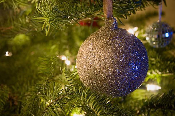 Ornaments On The Tree stock photo
